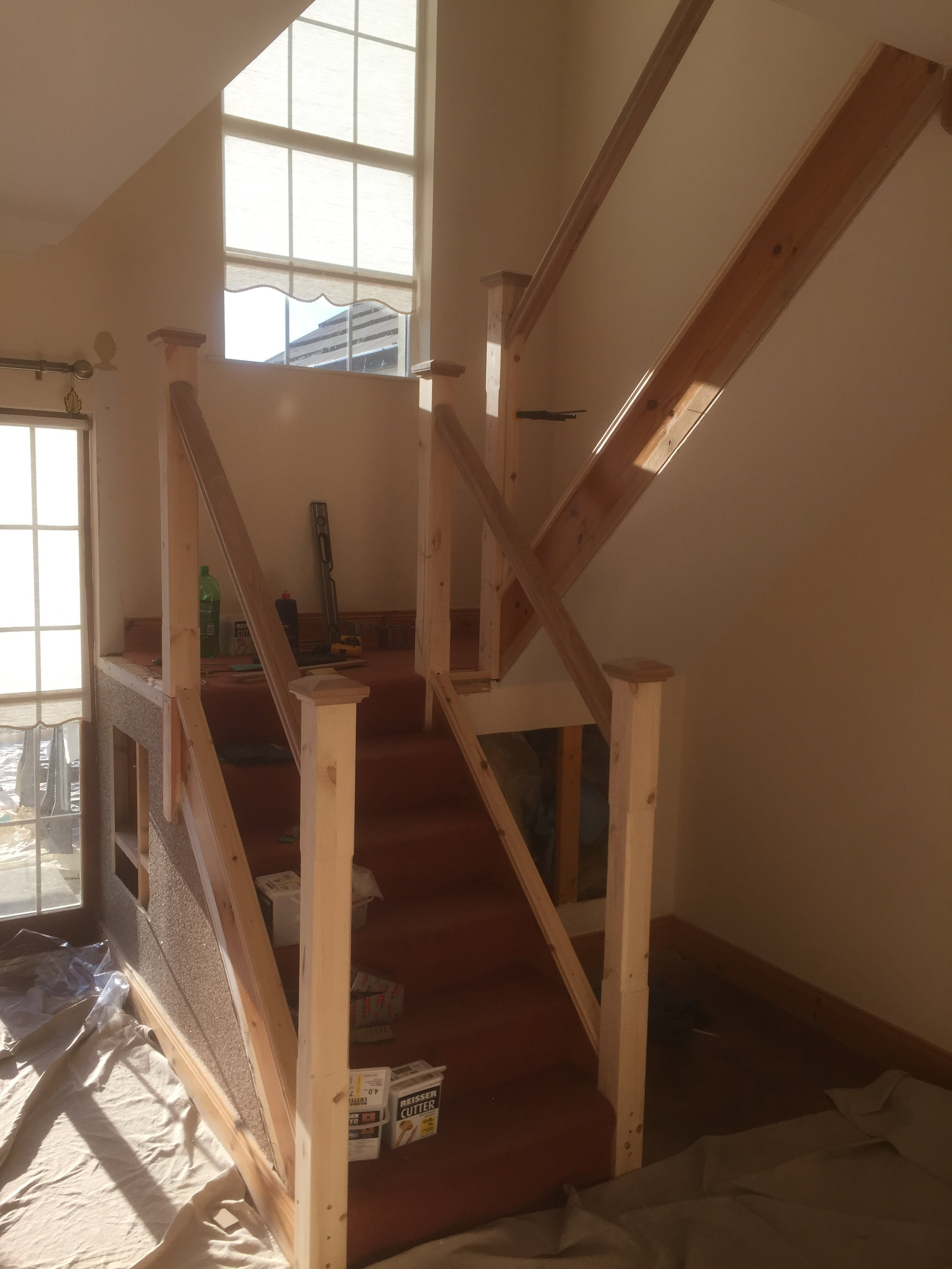 Staircase Revamp Swords Gt Carpentry Amp Building Services