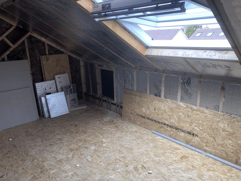 Attic Conversion Lucan GT Carpentry