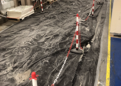 Factory Renovations - Glasnevin Dublin - Factory Floor