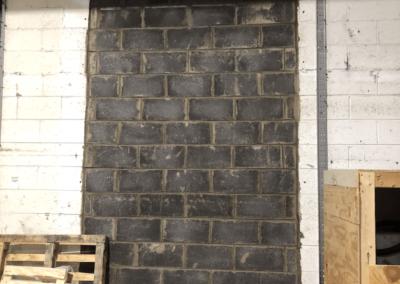 Factory Renovations - Glasnevin Dublin - Sealed Entrance