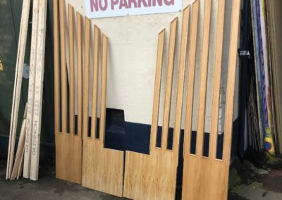 Custom Made Stage and Altar Backdrop - GT Carpentry