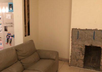 Living Room Renovation Raheny
