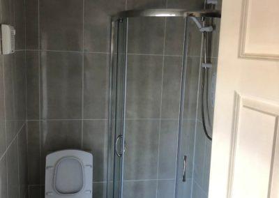 Progress 18 - Upstairs Bathroom Renovation Glasnevin - Feature - GT Carpentry