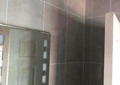 Progress 20 - Upstairs Bathroom Renovation Glasnevin - Feature - GT Carpentry