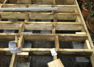 Custom Fitted Garden Decking - GT Carpentry