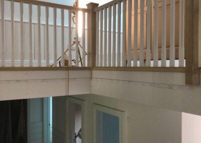 Custom Poplar Staircase, Wicklow - GT Carpentry