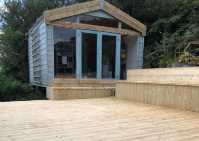 Garden Office & Decking Refurbishment, Howth