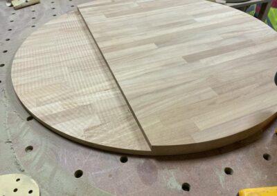 Circular Island Countertop Whitehall - GT Carpentry
