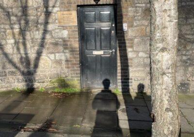 Replacement Door Merrion Road - GT Carpentry