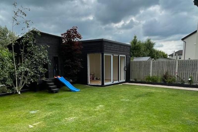 Garden Office Feature - GT Carpentry