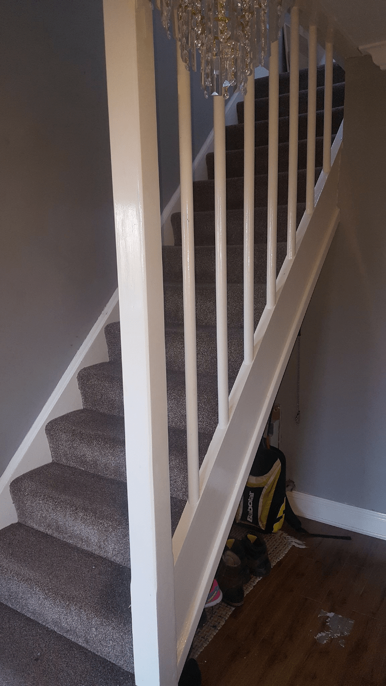 Staircase Revamp Edenmore Gt Carpentry Amp Building Services